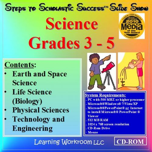 Steps to Scholastic Success Slide Show - Science, Grades 3 - 5