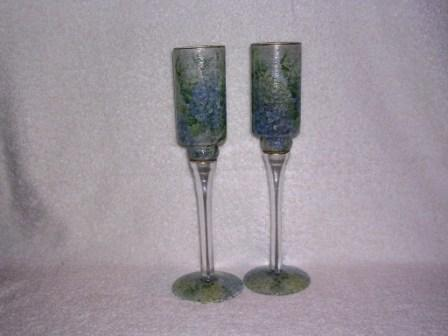 Stemmed Candle Holders